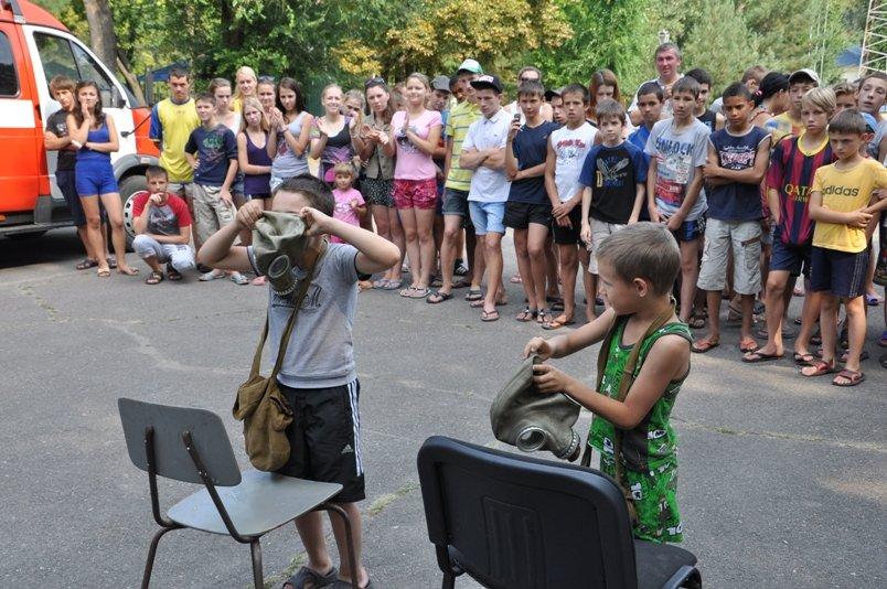 У таборі «Сонячний» рятувальники подбали про безпеку школярів під час літнього відпочинку (фото), фото-3