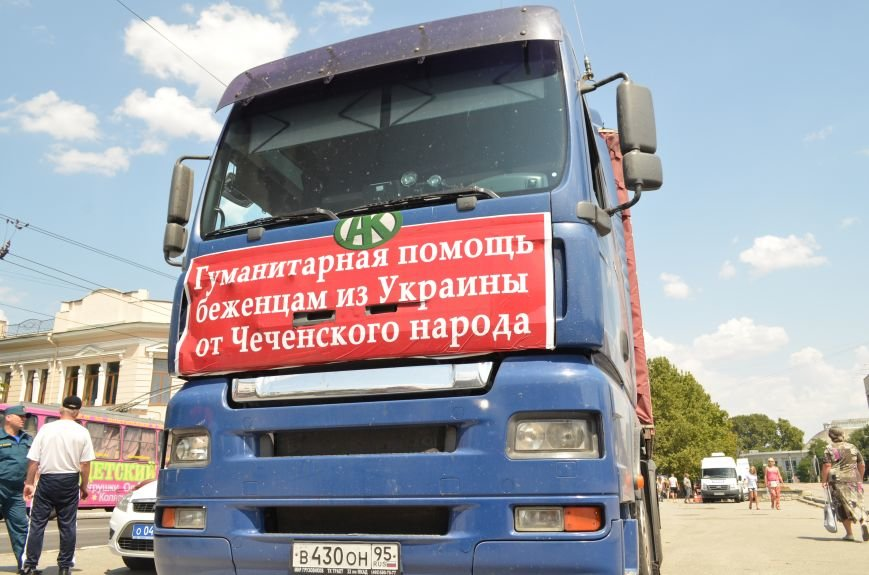 ФОТОФАКТ: В Симферополь прибыли фуры с гуманитаркой из Чечни, фото-4