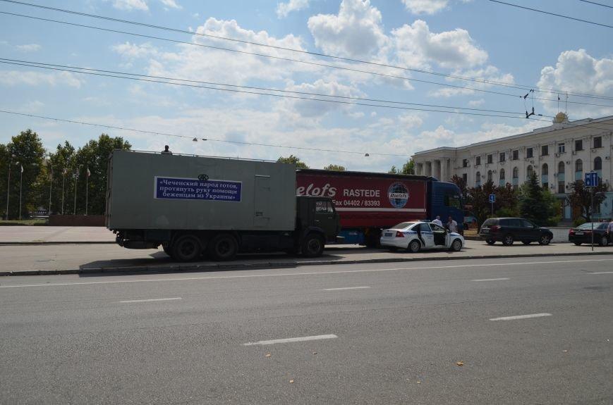 ФОТОФАКТ: В Симферополь прибыли фуры с гуманитаркой из Чечни, фото-1