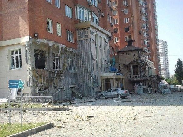 В центре Донецка рвутся снаряды - дончан просят покинуть улицы (ФОТО, ВИДЕО), фото-2