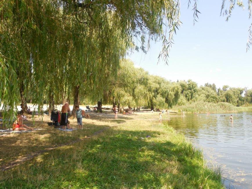 В Ленинском районе появится благоустроенный пляж вместо захламленного берега реки Лопань, фото-1