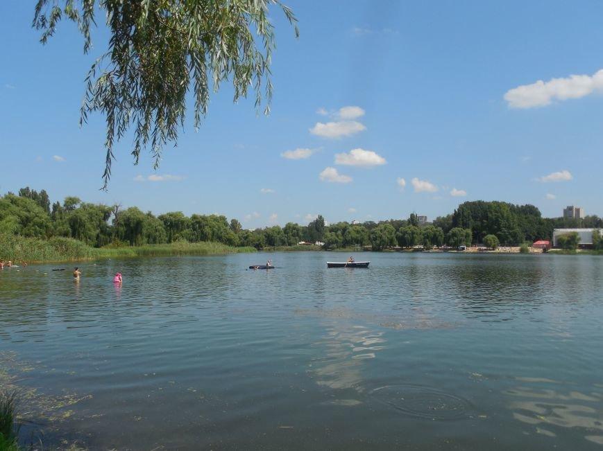 В Ленинском районе появится благоустроенный пляж вместо захламленного берега реки Лопань, фото-2