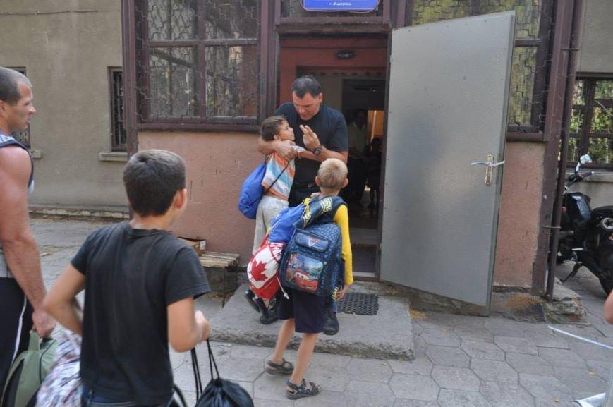 В Мариуполь вернулись дети, эвакуированные во время правления ДНР (ФОТО), фото-3