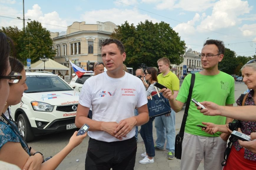 В Симферополь прибыла «Экспедиция 2014» из Владивостока (ФОТО), фото-1