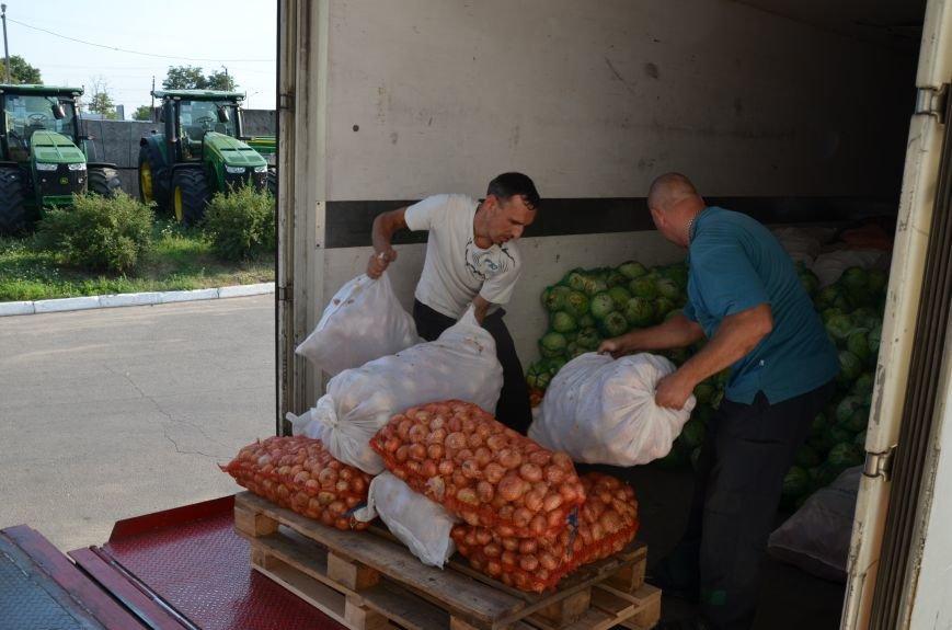 Кіровоградські прикордонники Донеччини отримали 20 тонн продуктів від народного депутата (фото), фото-1
