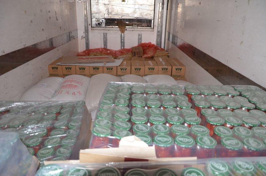 Кіровоградські прикордонники Донеччини отримали 20 тонн продуктів від народного депутата (фото), фото-2