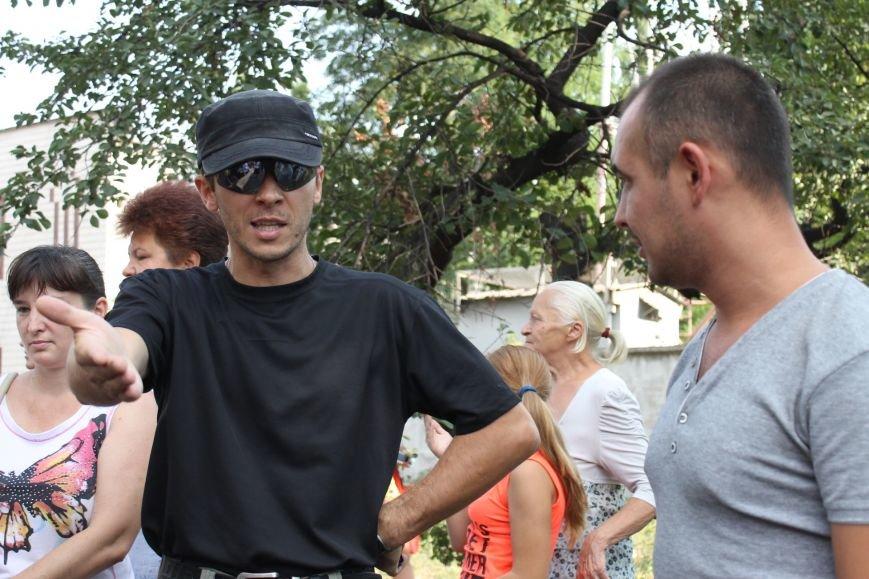 На «митинге против АТО» в Кривом Роге было 19 сторонников и с ними Виктория Шилова  (ФОТОРЕПОРТАЖ), фото-8