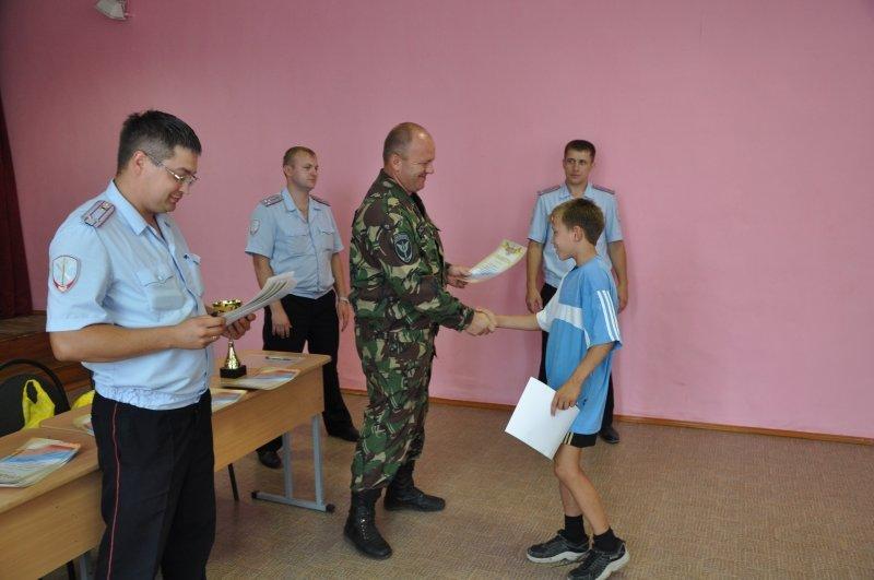 В Ульяновской области детям устроили «зарядку со стражем порядка», фото-2