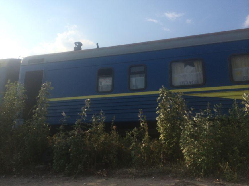 В Мариуполе проводники фирменного поезда «Лугань» живут прямо в поезде (Фотофакт), фото-3