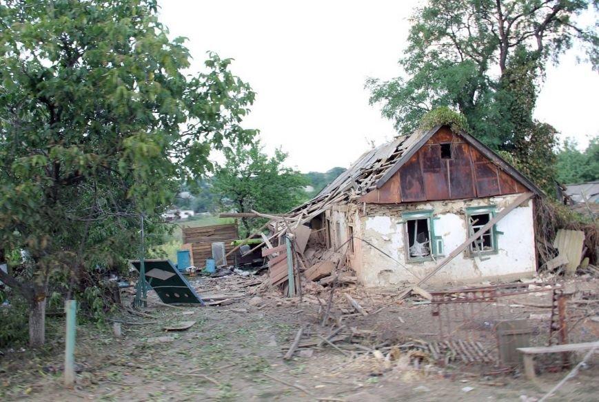 В Донецкой области  «Грады», стрелявшие с территории России, полностью уничтожили село Степановку (ФОТО), фото-4