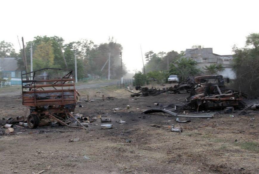 В Донецкой области  «Грады», стрелявшие с территории России, полностью уничтожили село Степановку (ФОТО), фото-6