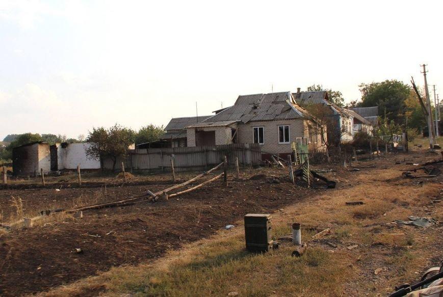 В Донецкой области  «Грады», стрелявшие с территории России, полностью уничтожили село Степановку (ФОТО), фото-3