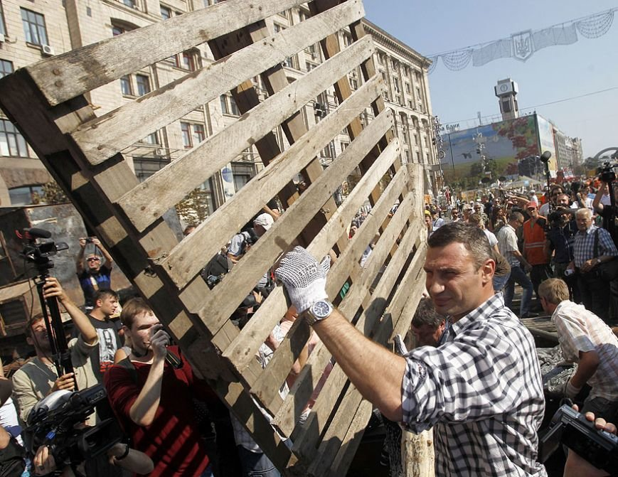 Субботник на Крещатике: тысячи киевлян, Кличко и нардепы (ФОТО), фото-1