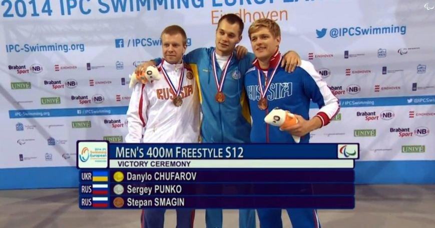 Мариупольский пловец Даниил Чуфаров завоевал «золото» на чемпионате Европы (ФОТО), фото-7