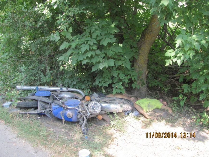 На Сумщине насмерть разбились мотоциклист и его пассажир (ФОТО), фото-5