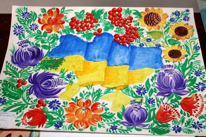 Артемовские дети присоединились к инициативе «Україна Едина», фото-8