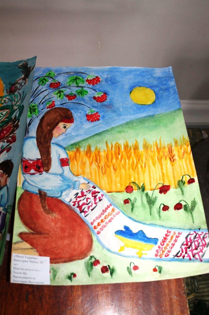Артемовские дети присоединились к инициативе «Україна Едина», фото-3
