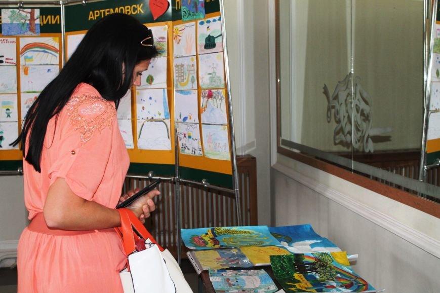Артемовские дети присоединились к инициативе «Україна Едина», фото-9