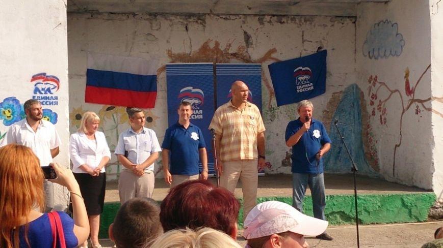 Валуев открыл в Симферополе детскую площадку (ФОТО), фото-2