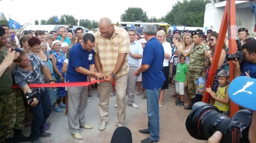 Валуев открыл в Симферополе детскую площадку (ФОТО), фото-4