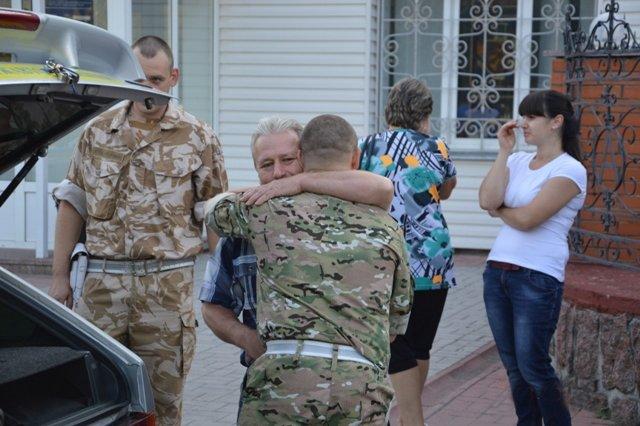 Кировоградские гаишники отправились в зону АТО (фото), фото-7