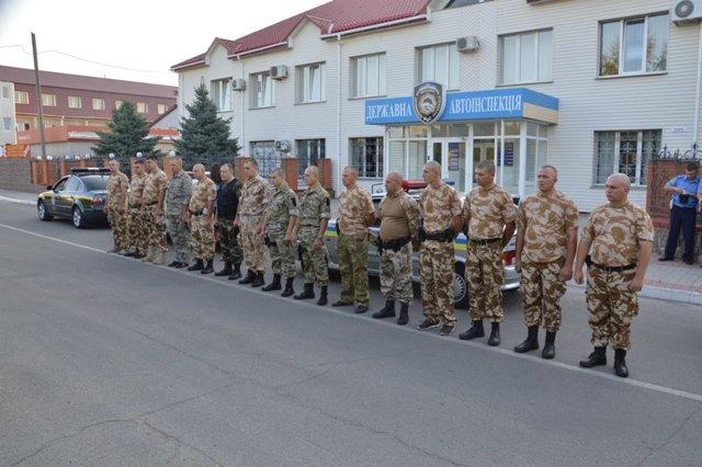 Кировоградские гаишники отправились в зону АТО (фото), фото-3