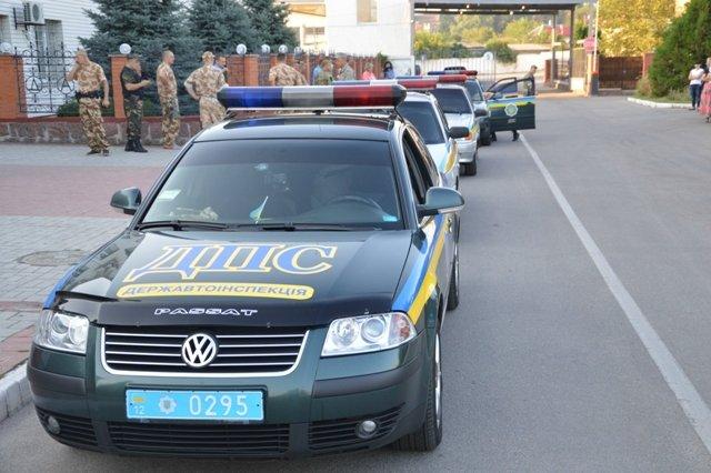 Кировоградские гаишники отправились в зону АТО (фото), фото-1