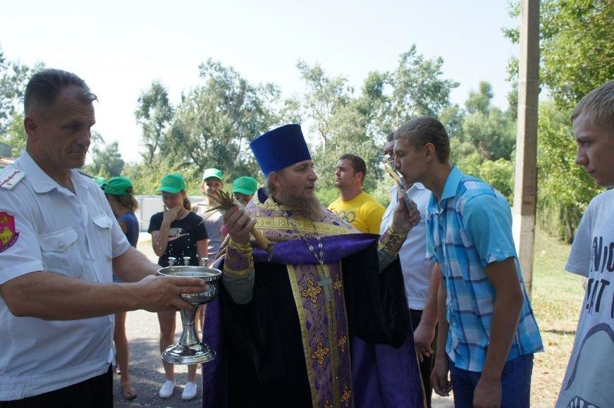 В лагере  «Олимпиец»  попили чайку с освященным медком, фото-2
