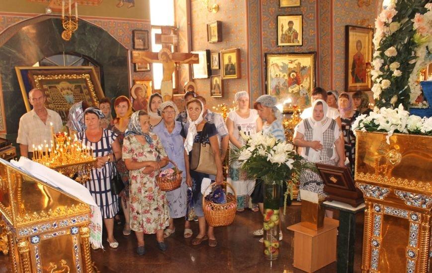 Божественная литургия в Свято-Покровском храме