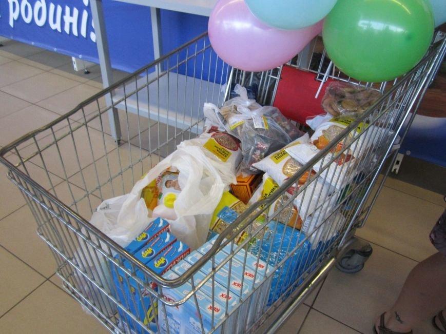 В Мариуполе покупатели супермаркета собрали 2100 грн. для беженцев (ФОТО), фото-3