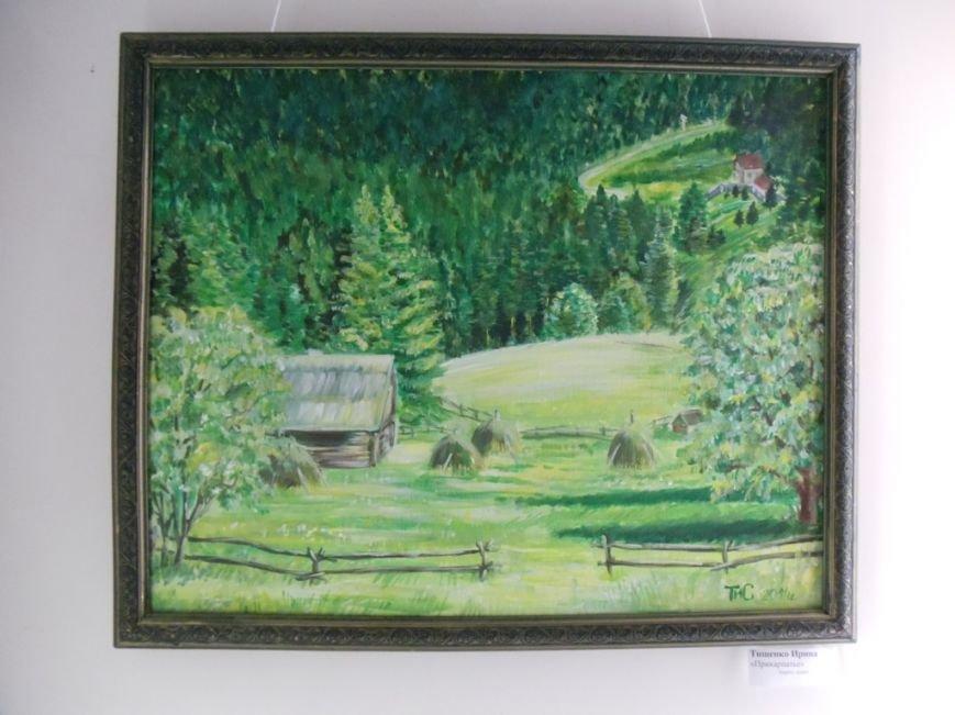 Выставка ильичёвской художницы открылась в музее имени Белого, фото-4