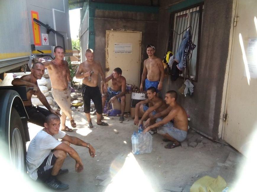 В Мариуполе беженцы получили 50 тонн картофеля от жителей Черкасской и Сумской областей (ФОТО), фото-8