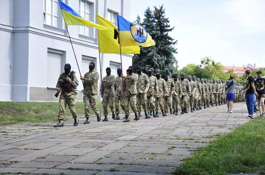 В Киеве 75 добровольцев батальона «Азов» проводили на войну (Добавлено ФОТО), фото-3