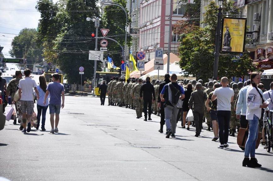 В Киеве 75 добровольцев батальона «Азов» проводили на войну (Добавлено ФОТО), фото-4
