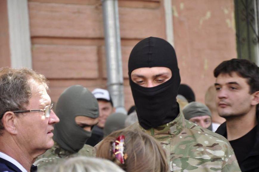 В Киеве 75 добровольцев батальона «Азов» проводили на войну (Добавлено ФОТО), фото-7