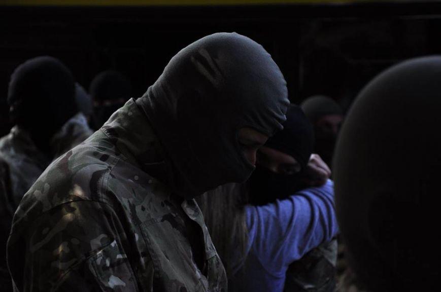 В Киеве 75 добровольцев батальона «Азов» проводили на войну (Добавлено ФОТО), фото-5