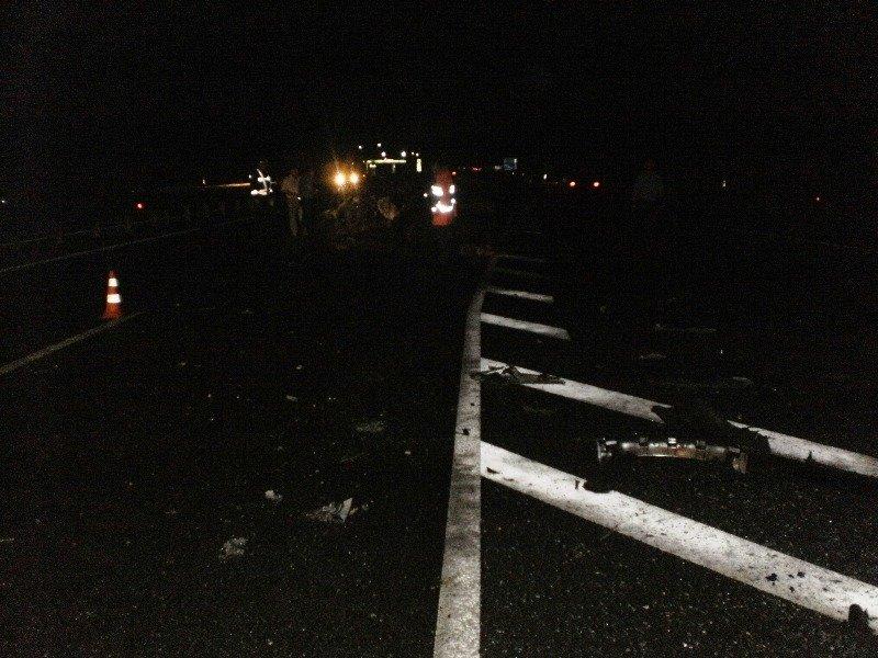 На Киевщине столкнулись автобус и автомобиль. Один человек погиб (ФОТО), фото-1