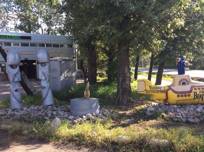 Пушкин, вандалы, Царское Село, монумент рок-н-роллу, 17 августа