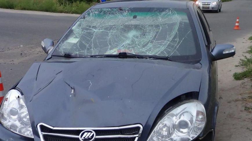 В Кировограде мотоцикл столкнулся с автомобилем (фото), фото-1