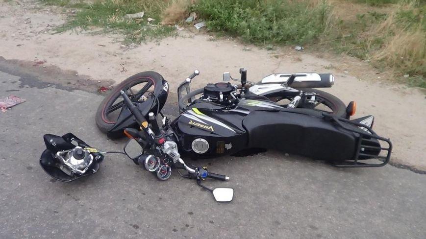 В Кировограде мотоцикл столкнулся с автомобилем (фото), фото-3