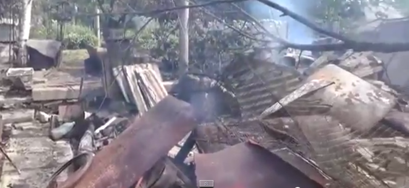 На окраине Донецка снарядами разрушено около 30 домов (ФОТО), фото-1