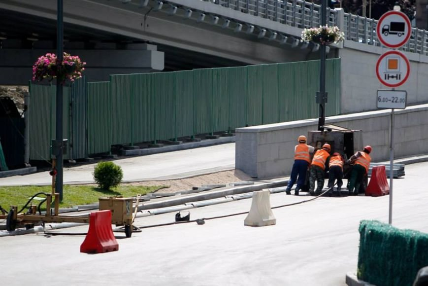 В Киеве завершили реконструкцию транспортной развязки на Почтовой площади (ФОТО, ВИДЕО), фото-13
