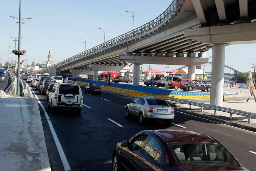 В Киеве завершили реконструкцию транспортной развязки на Почтовой площади (ФОТО, ВИДЕО), фото-9