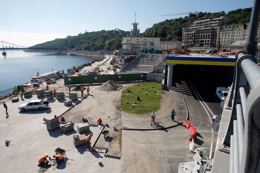 В Киеве завершили реконструкцию транспортной развязки на Почтовой площади (ФОТО, ВИДЕО), фото-2