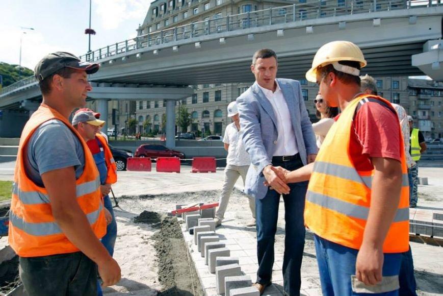 В Киеве завершили реконструкцию транспортной развязки на Почтовой площади (ФОТО, ВИДЕО), фото-12