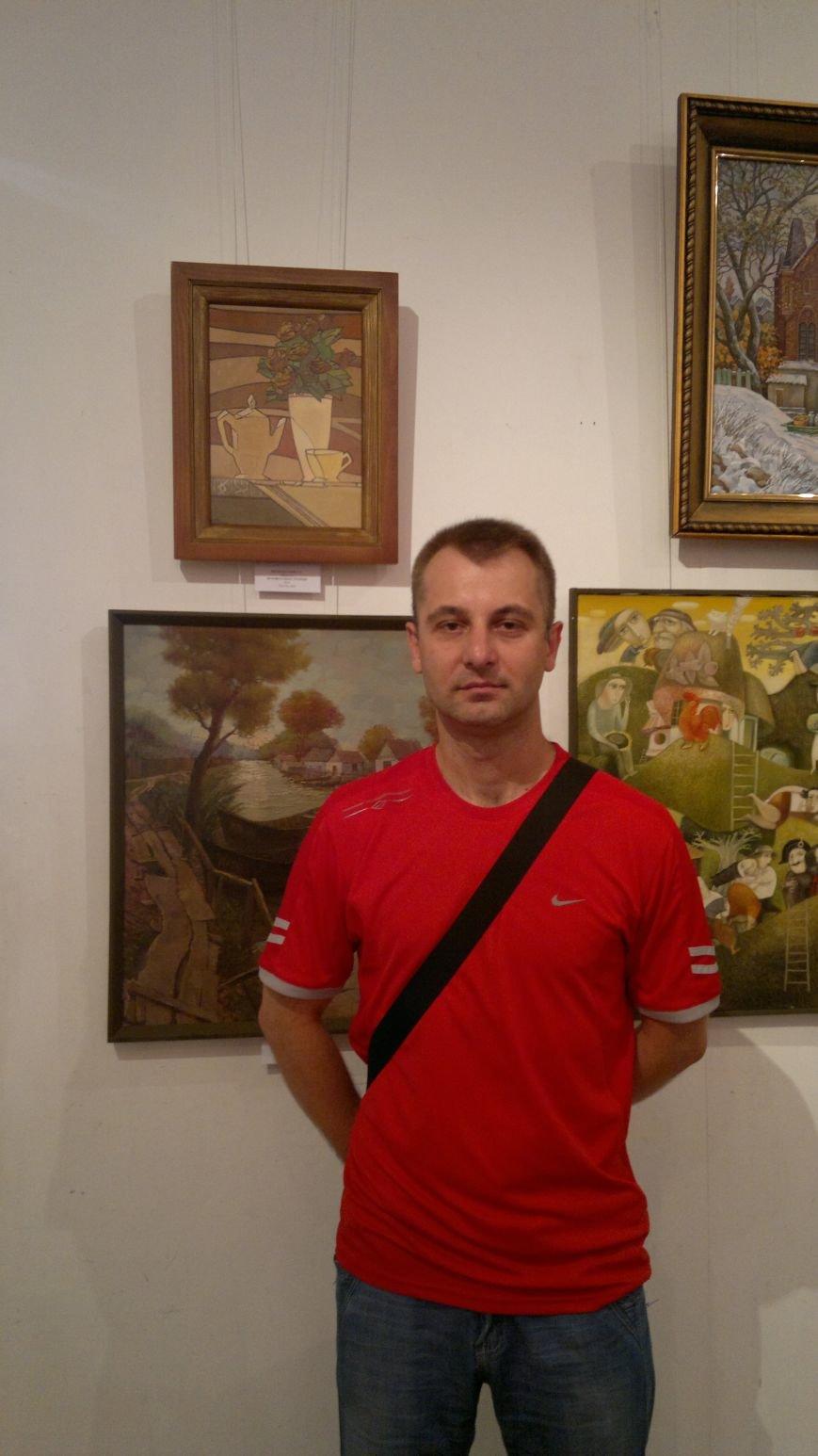 Ко Дню независимости Украины мариупольские художники выставили свои работы в Киеве, фото-1