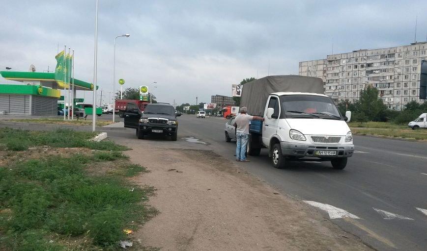 В Мариуполе столкнулись 3 маршрутки. Пострадал ребенок, фото-1