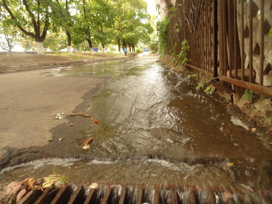 Авария на центральном водоводе в Мариуполе. Сотни людей остались без воды (ФОТО), фото-3