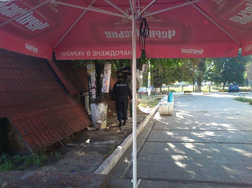 Поступило сообщение о заминировании Днепродзержинского железнодорожного вокзала, фото-1