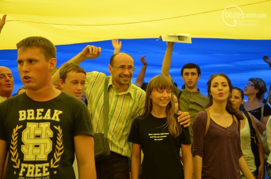 Фотопятница: «Сине-желтый Мариуполь» (ФОТО), фото-1